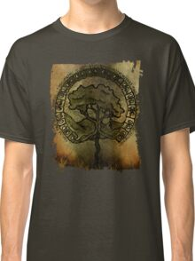 celtic tree of life with runes  Classic T-Shirt