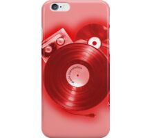 Music (R)Evolution [red] iPhone Case/Skin