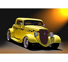 1934 Ford Coupe II Photographic Print