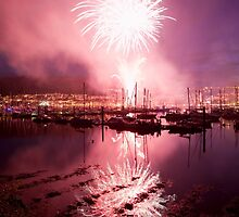 Regatta in Dartmouth by Kerry Dunstone
