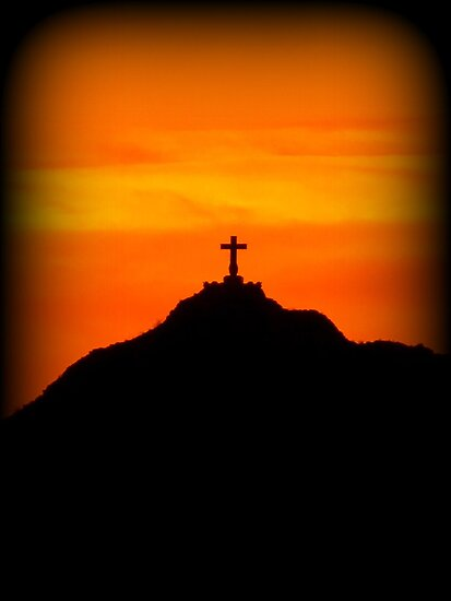 Mount Cristo Rey  by Kimberly Chadwick