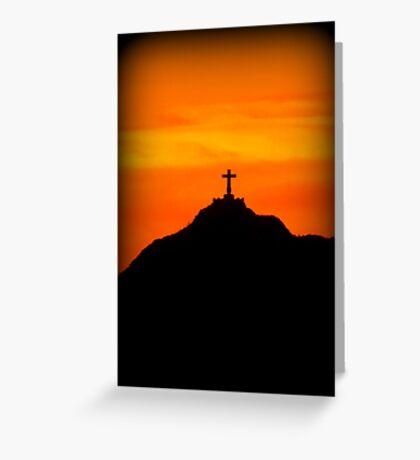 Mount Cristo Rey  Greeting Card