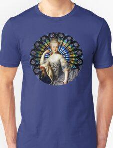 Marie Antoinette Black Unisex T-Shirt