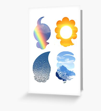 Castform used Weather Ball Greeting Card