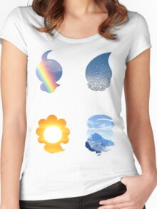 Castform used Weather Ball Women's Fitted Scoop T-Shirt