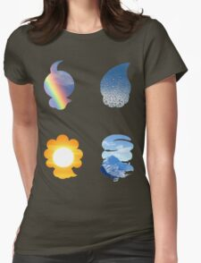 Castform used Weather Ball Womens Fitted T-Shirt