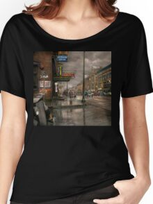 City - Amsterdam NY -  Call 666 for Taxi 1941 Women's Relaxed Fit T-Shirt