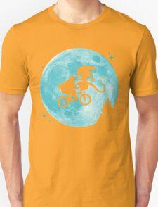E.T. vs Aliens - transparent Unisex T-Shirt