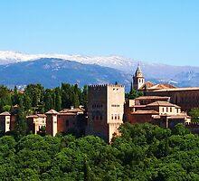 The Alhambra, Granada by CourtneyAnne82