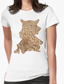Cubone used Bone Rush Womens Fitted T-Shirt