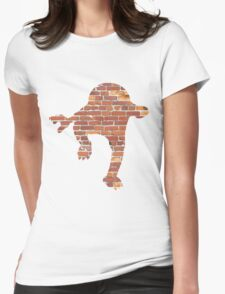 Hitmonlee used Hi Jump Kick Womens Fitted T-Shirt