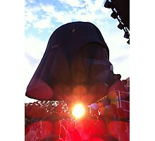 The sun shines from Darth Vader's ...? Photographic Print