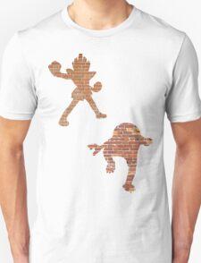 Hitmonlee and Hitmonchan Unisex T-Shirt