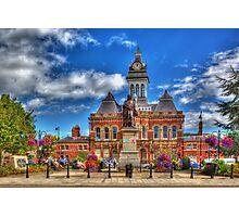 Grantham town Photographic Print