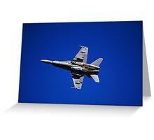 RAAF F/A 18 Super Hornet Greeting Card