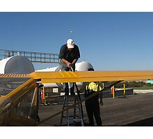 Refuelling the Foxbat at Cowra airfield Photographic Print
