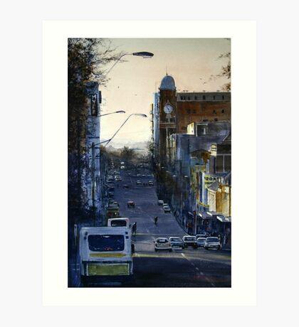 St John Street at Dusk Art Print