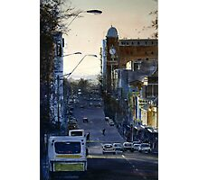 St John Street at Dusk Photographic Print