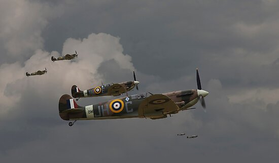 317 'Polish' Squadron Spitfires by warbirds