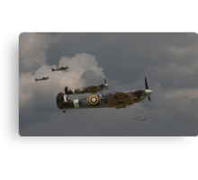 317 'Polish' Squadron Spitfires Canvas Print