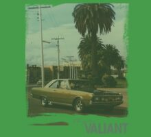 Chrysler Valiant vintage tee Kids Tee