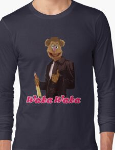 Fonzie Bear Waka Waka Long Sleeve T-Shirt