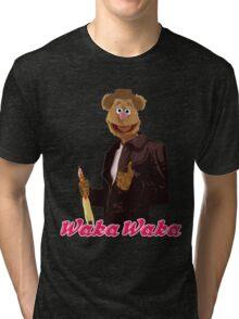 Fonzie Bear Waka Waka Tri-blend T-Shirt