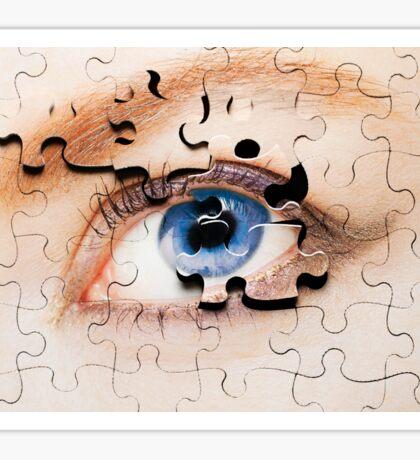 Jigsaw Eye Sticker
