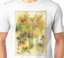 Watercolor Cross Unisex T-Shirt
