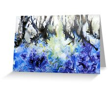 Bluebell-wood Greeting Card