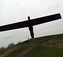 Angel Of the North  by Alison Ward