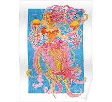 Jellyfish Kiss Poster
