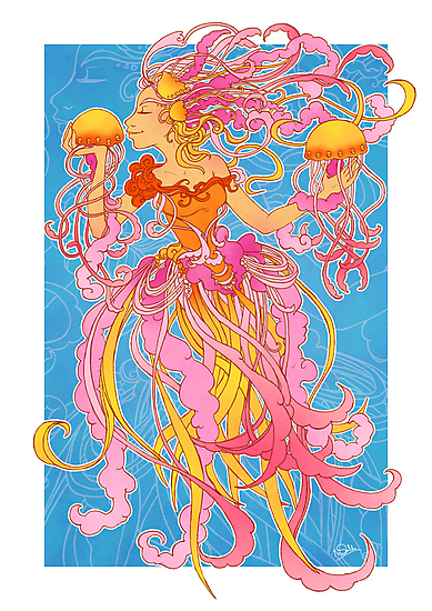 Jellyfish Kiss by Natasha Dancy