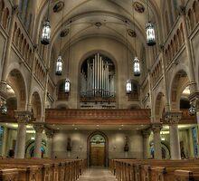 St. John Cathedral Lafayette La by Chris Ferrell