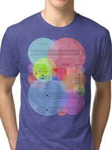 Techy Circles Tri-blend T-Shirt