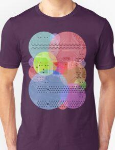 Techy Circles Unisex T-Shirt