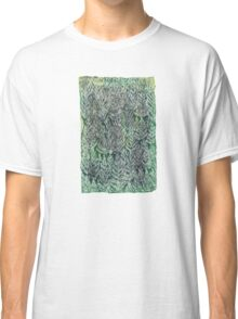 Snow Pines(Light Green) Classic T-Shirt
