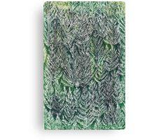 Snow Pines(Light Green) Canvas Print