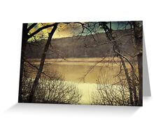 Confession Of The Woods Greeting Card