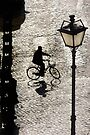 City Cyclist by Andrew Bret Wallis