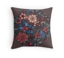 Circle of Friends in Colour Throw Pillow
