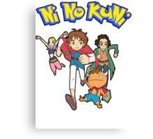Pokemon + Ni No Kuni = Pokuni? Ninokémon? Canvas Print