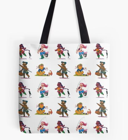 Cat adventures Tote Bag