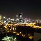 Perth by night from Kings Park by SezziT