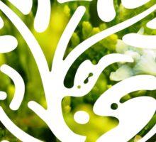 cypress bush Sticker