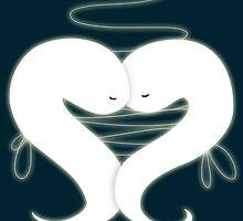 Ghosties in Love by PineappleBunny