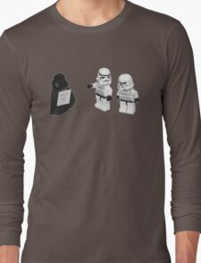 STORMTROOPERS KICK ME STAR WARS   Long Sleeve T-Shirt