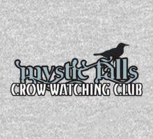 Mystic Falls Crow Watching Club T-Shirt