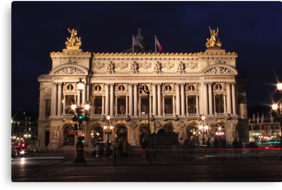 Palais Garnier by Elena Skvortsova