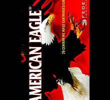 American Eagle Rifle Cartridges iPhone Cover by jlerner